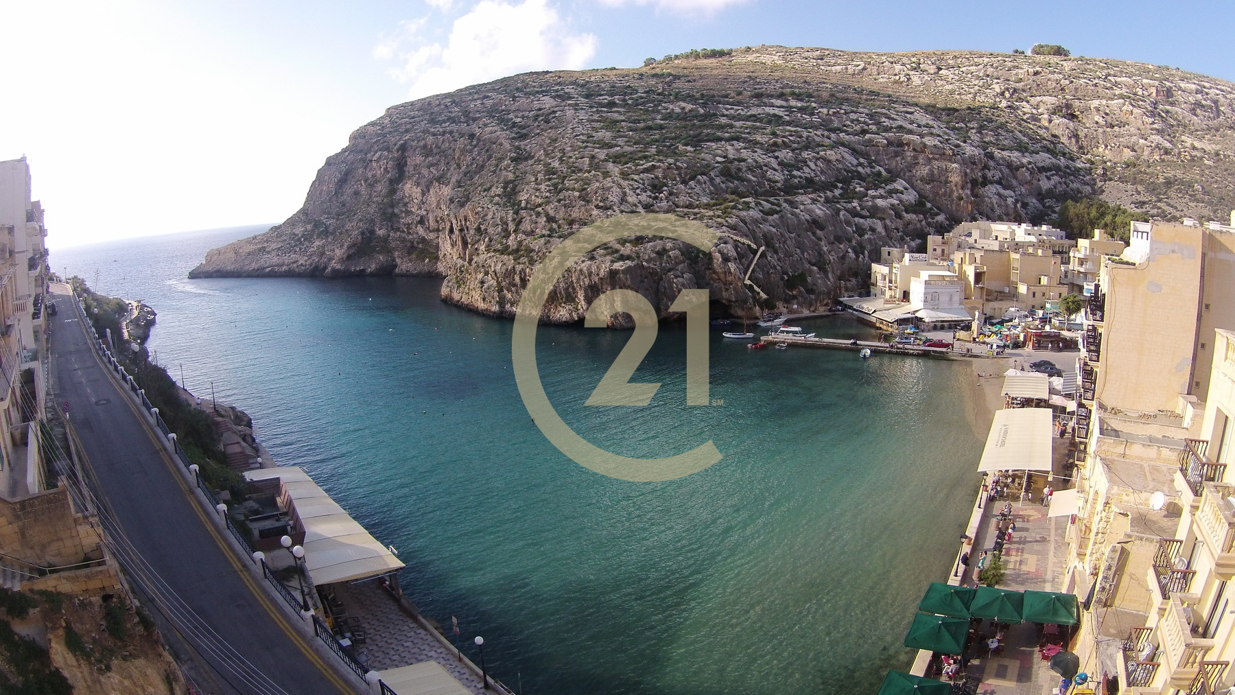 Finished Sea Front Apartment For Sale in Xlendi