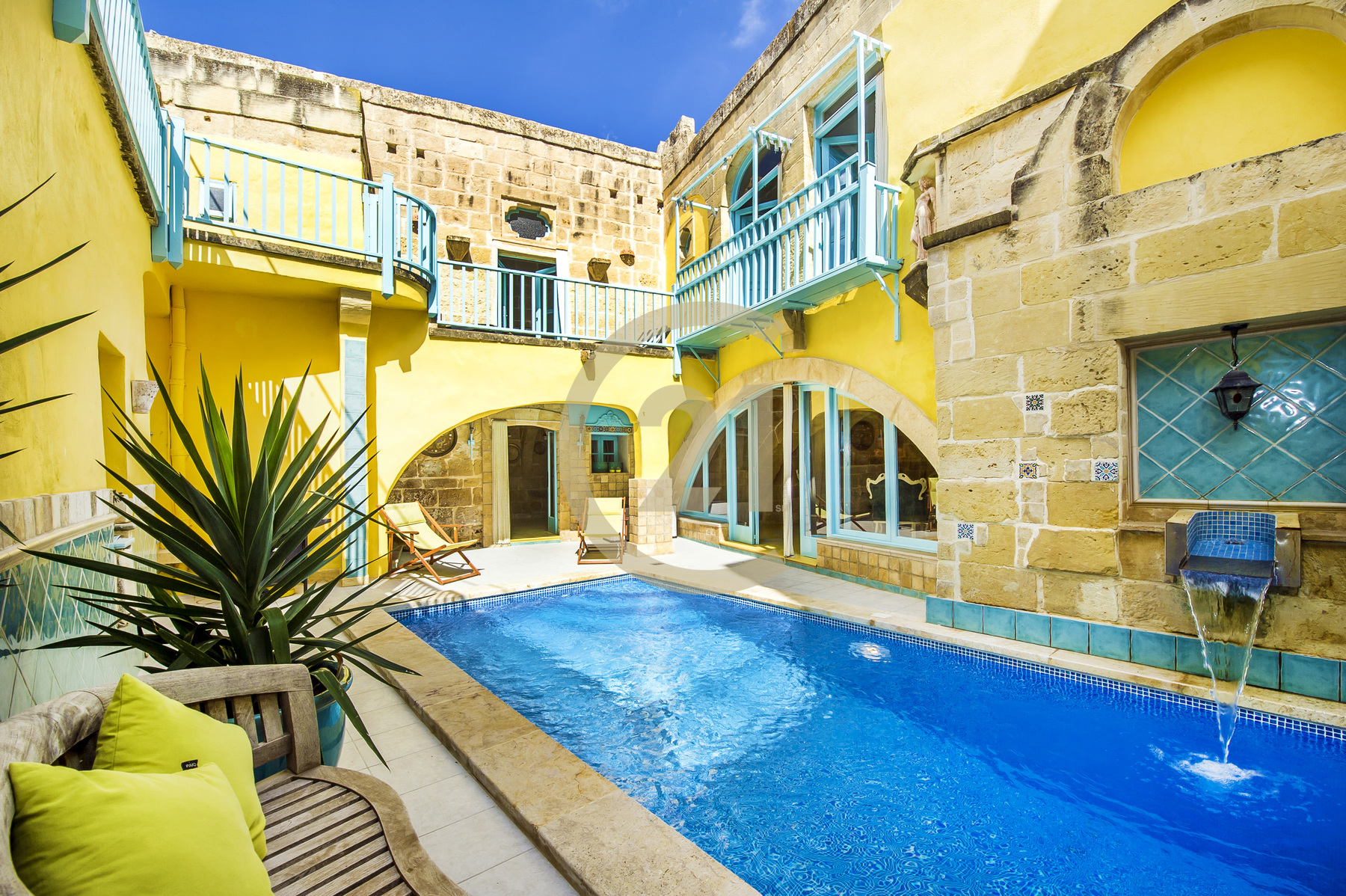 Tastefully Restored Furnished Farmhouse For Sale in Gharb