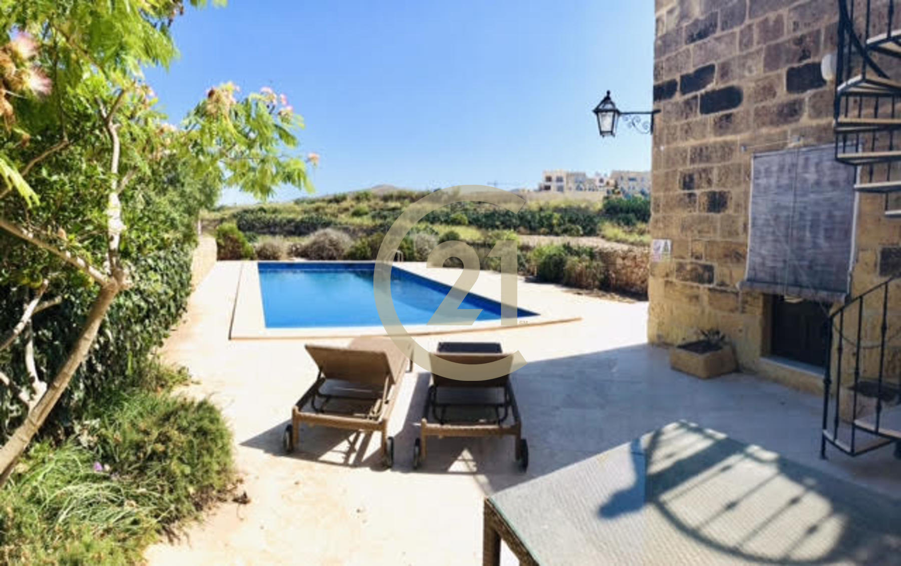 Unique Furnished House of Character For Sale in Gharb