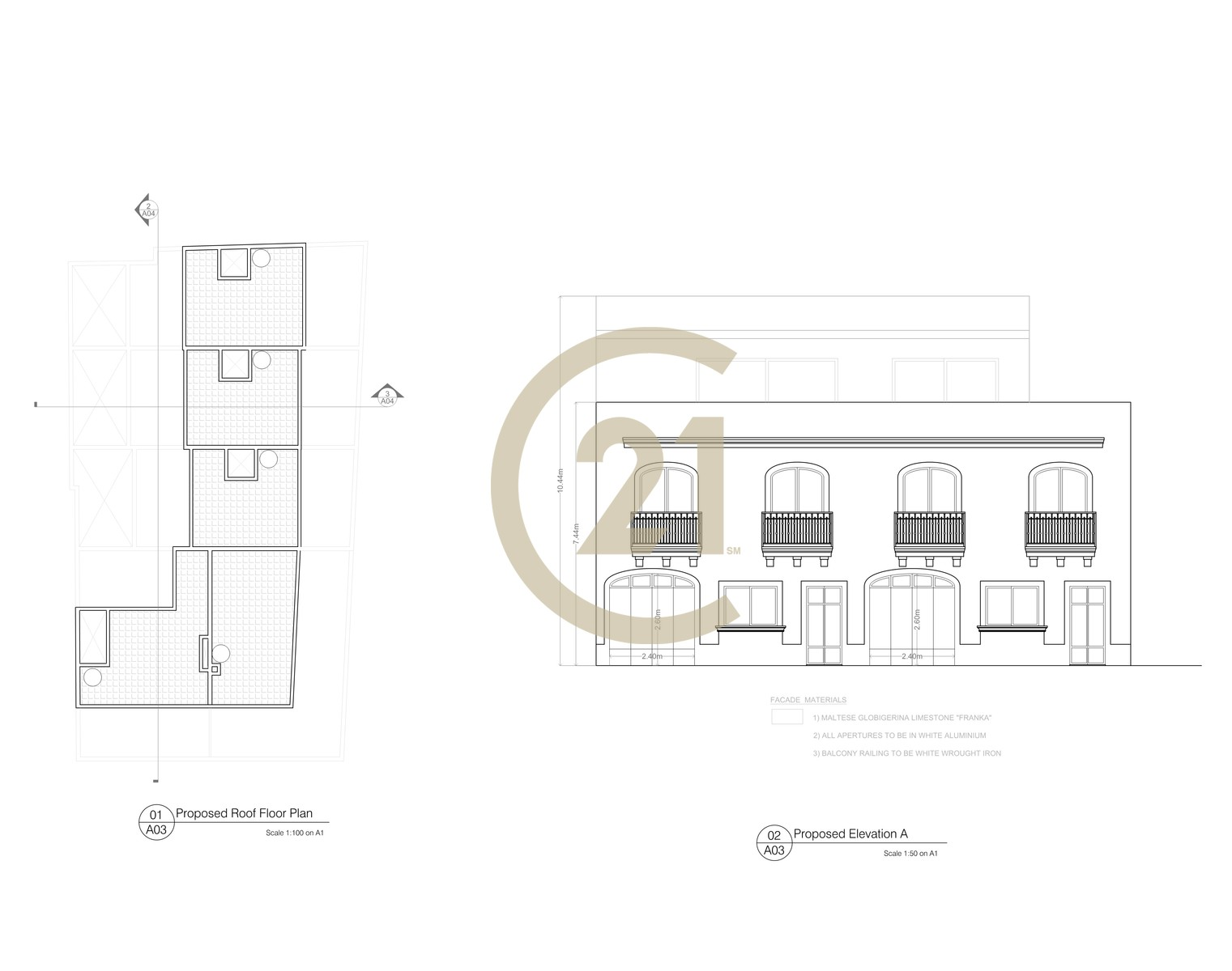 Plot of Land With Permit For Sale in Gharb