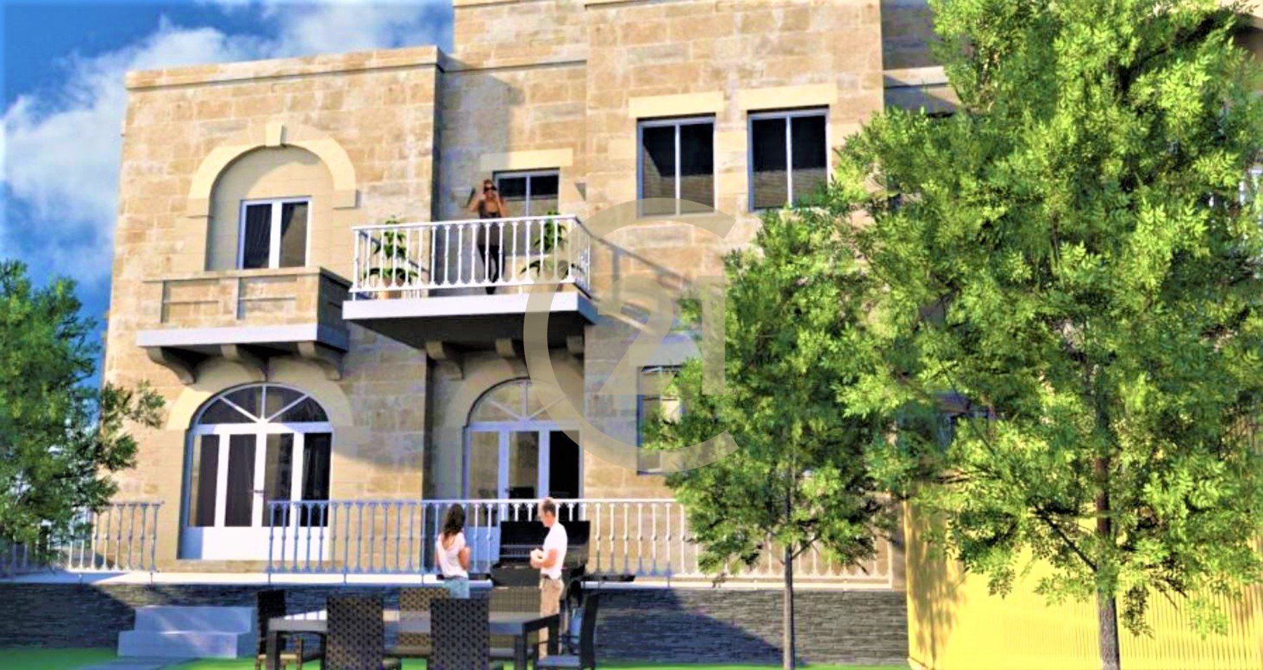 House of Character Enjoying Country Views For Sale in Qala