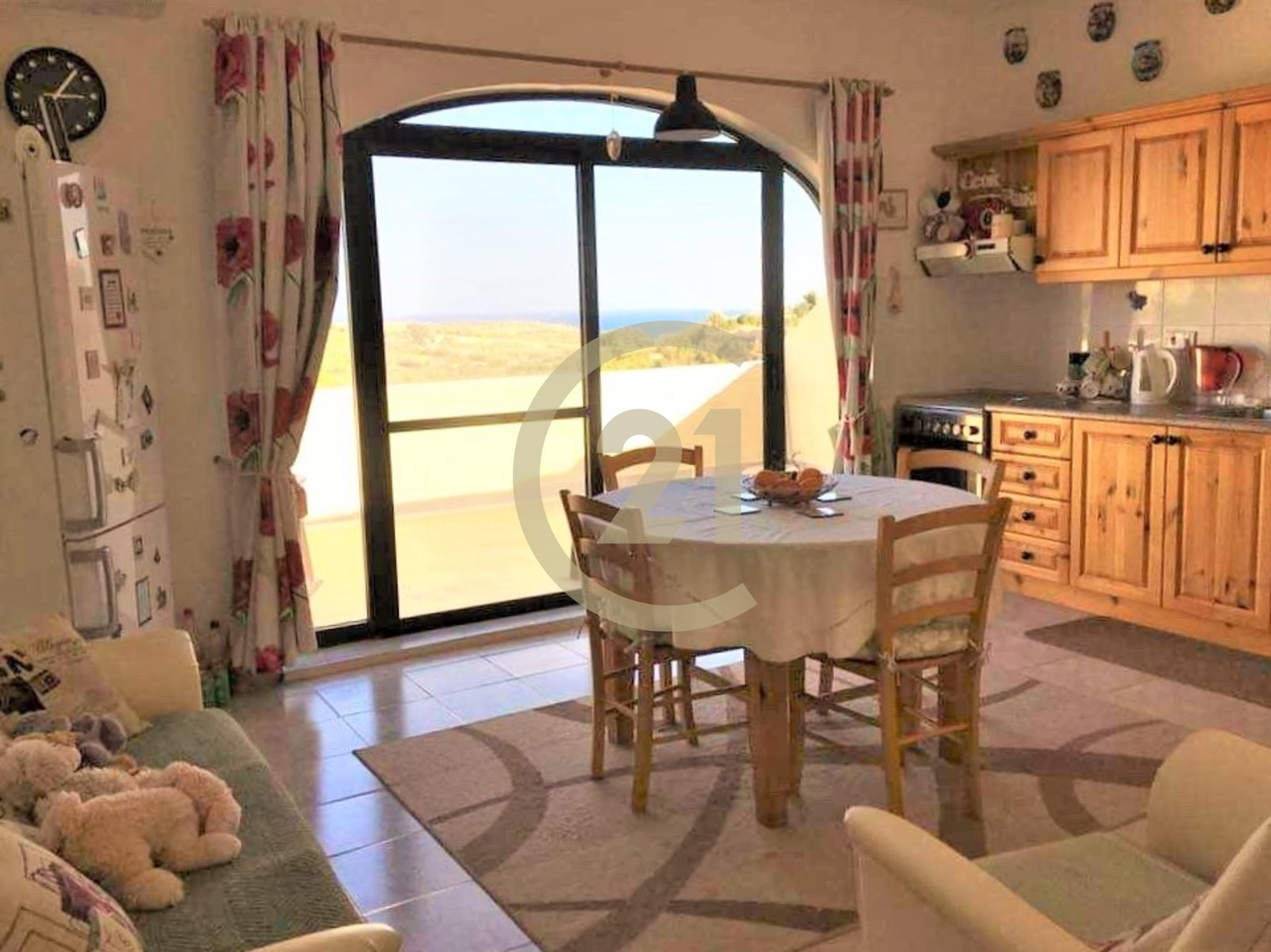 Three Bedroom Apartment Enjoying Country and Sea Views For ...
