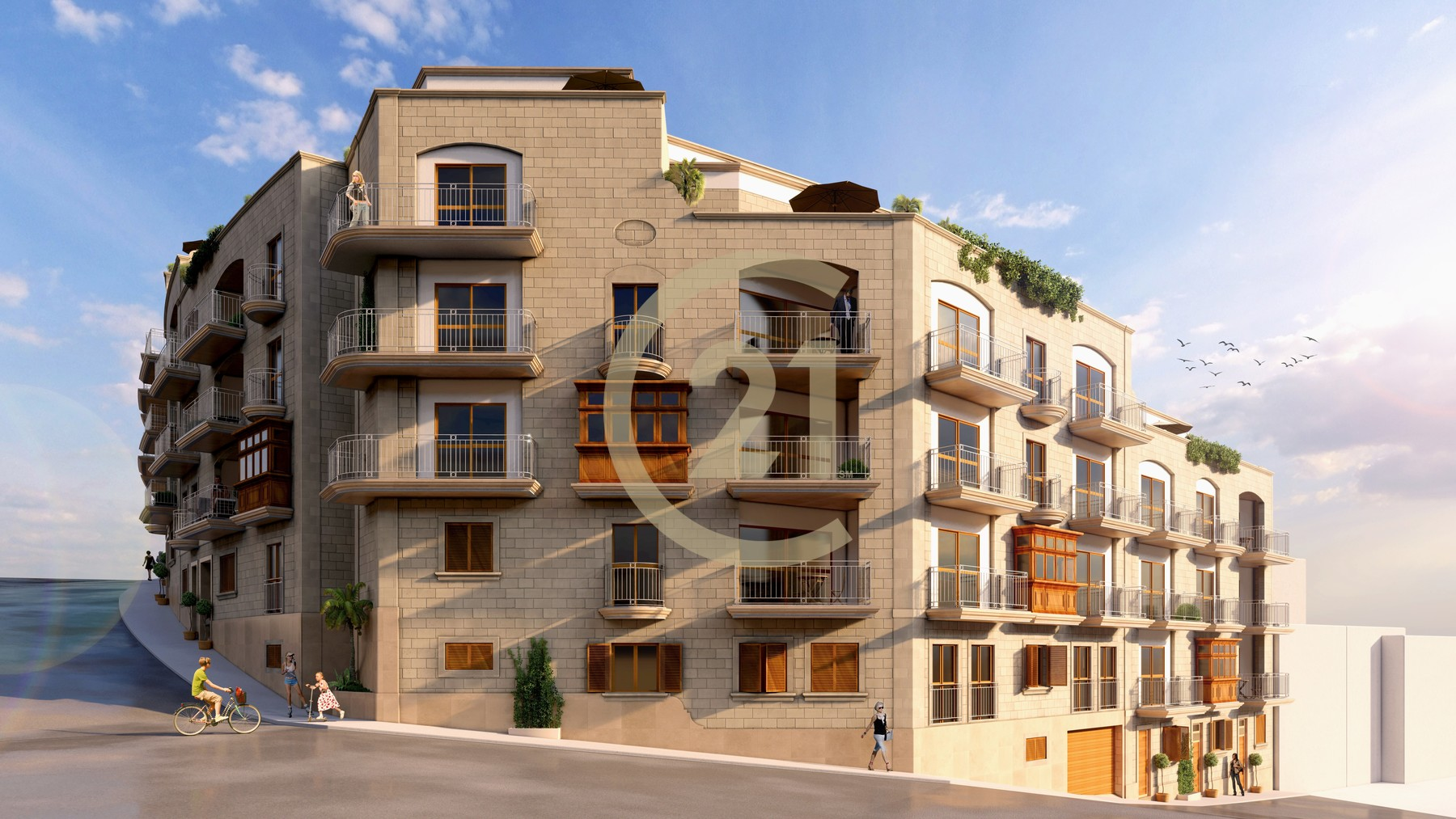 Three Bedroom Apartment For Sale in Qala