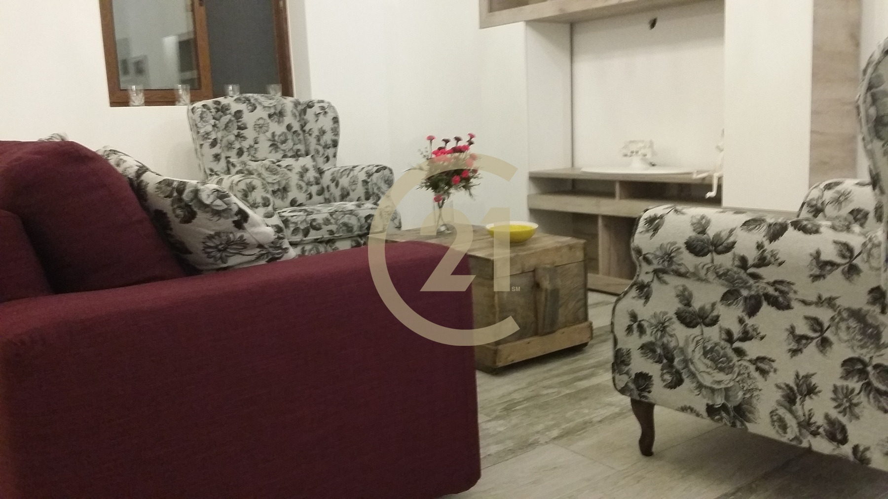 Furnished Apartment Overlooking the Valley For Sale in Munxar