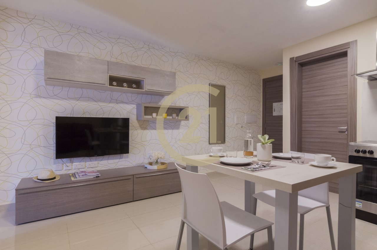 Furnished Studio Apartment For Rent In Sliema