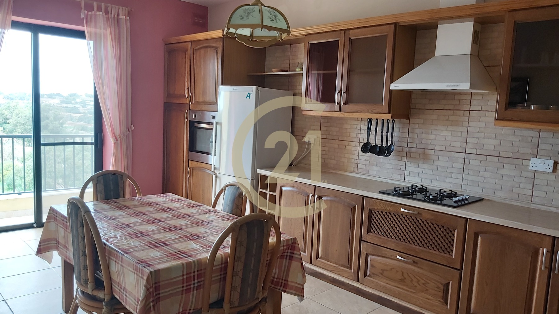 Furnished 3 Bedroom Apartment For Rent In Marsascala