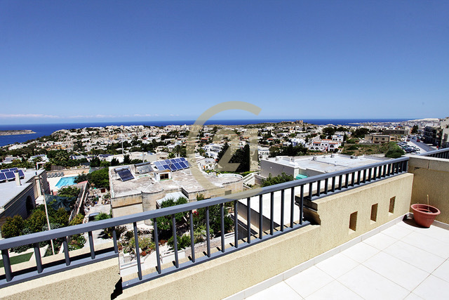 Mellieha Penthouse with amazing views over Santa Maria Estate