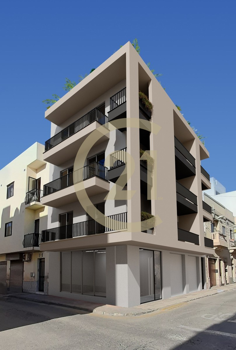 2 Bedroom Semi-Finished Apartment For Sale In Zabbar ...